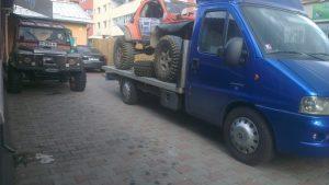 Transport masina pregatita pentru off road Cluj